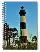 Bodie Island Evening Spiral Notebook