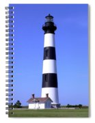 Bodie Island Light Spiral Notebook
