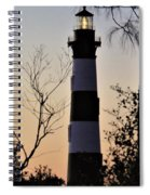 Bodie Island Trees Spiral Notebook