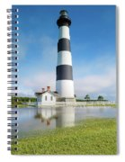 Bodie Lighthouse Spiral Notebook