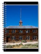 Bodie Schoolhouse Spiral Notebook