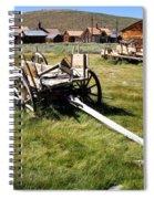 Bodie Wagon Spiral Notebook