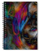 Body And Mind Spiral Notebook