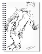 Body In Motion Spiral Notebook