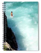 Body Plunge Spiral Notebook