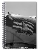 Boeing B-17g Flying Fortress Nose Art Spiral Notebook