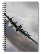 Boeing B17 Sally B Spiral Notebook