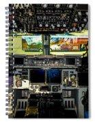 Boeing C-17 Globemaster IIi Cockpit Spiral Notebook