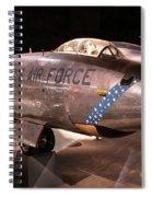 Boeing Rb 47h Plane Spiral Notebook