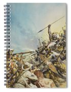 Boers Fighting Natives Spiral Notebook