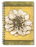 Bohemian Dahlia 1 Spiral Notebook