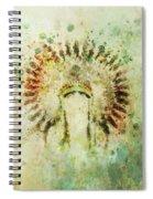 Boho Headdress Spiral Notebook