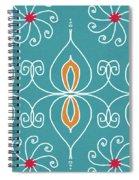 Boho Ornamental 3- Art By Linda Woods Spiral Notebook