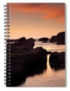 Boiler Bay Sunset Spiral Notebook