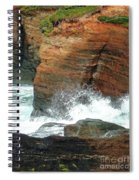 Boiler Bay Waves Spiral Notebook