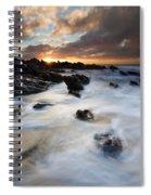 Boiling Tides Spiral Notebook