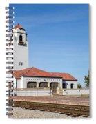 Boise Depot-elevation 2753 Spiral Notebook