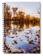 Boise River Autumn Glory Spiral Notebook
