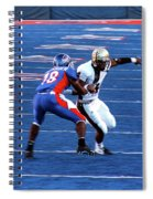 Boise State Great Gerald Alexander Spiral Notebook