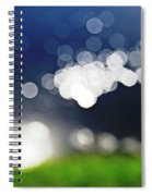 Bokeh By The Lake Spiral Notebook