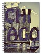 Bold Chicago Spiral Notebook