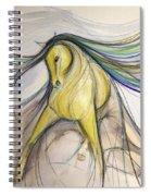 Bold Dancer Spiral Notebook