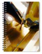 Bold Golden Glow Spiral Notebook