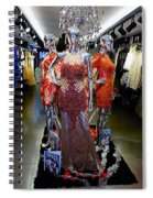 Bold Mannequins Fashion Display In Palma Majorca Spain Spiral Notebook