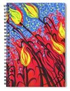 Bold Tulips Spiral Notebook