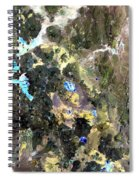 Bolivian Andes From Space Spiral Notebook