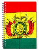 Bolivian Flag Spiral Notebook