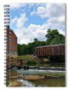 Bollinger Mill And Covered Bridge Spiral Notebook
