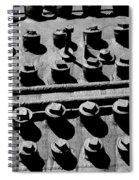 Bolt Heads Spiral Notebook