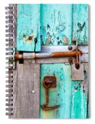 Bolted Door Spiral Notebook