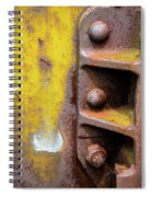 Bolted Iron Spiral Notebook