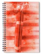 Bomb Of The Betrayal Spiral Notebook