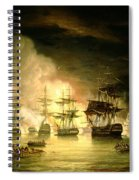 Bombardment Of Algiers Spiral Notebook