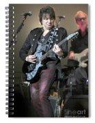 Bon Jovi Guitarist Richie Samboro Spiral Notebook