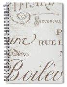 Bon Mots II Spiral Notebook