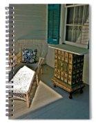 Bon Secour Lounge On The Porch Spiral Notebook
