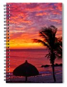 Bonaire Sunset 1 Spiral Notebook