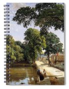 Bonchurch Isle Of Wight Spiral Notebook