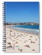 Bondi Beach In Sydney Australia Spiral Notebook