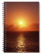 Bondi Beach Sunrise Spiral Notebook