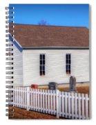Bonds Chapel 1883 Spiral Notebook