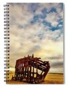 Bones Of A Shipwreck Spiral Notebook