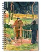 Bonjour Monsieur Gauguin Spiral Notebook