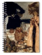 Bonnard: Breakfast, C1899 Spiral Notebook