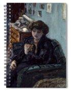 Bonnard: Lady, 19th C Spiral Notebook