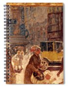 Bonnard: Place Clichy Spiral Notebook